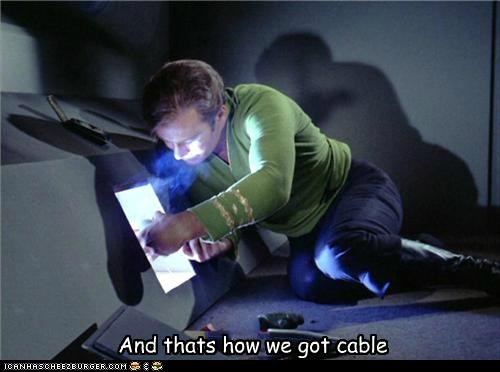 cable,Captain Kirk,Shatnerday,Star Trek,William Shatner