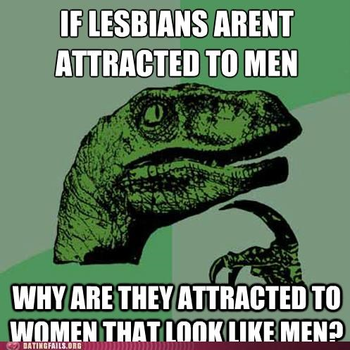 butch dyke lesbian lesbians meme philosoraptor We Are Dating - 5433008640