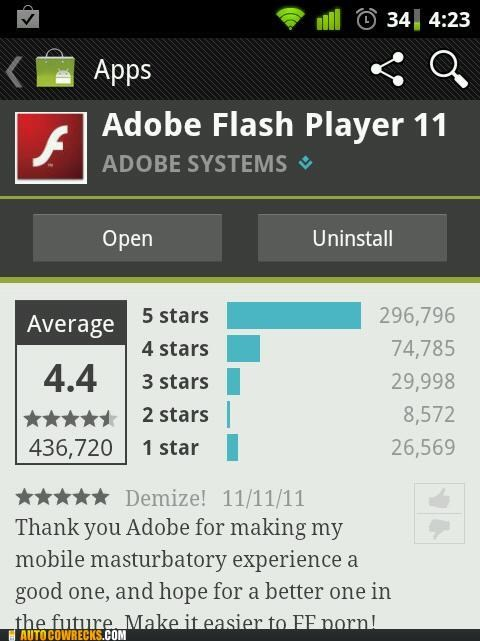 adobe App app review flash masturbation review