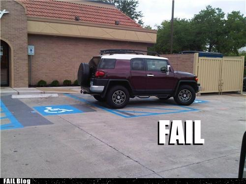 all the things cars douchebag parkers handicapped parking parking - 5433204736