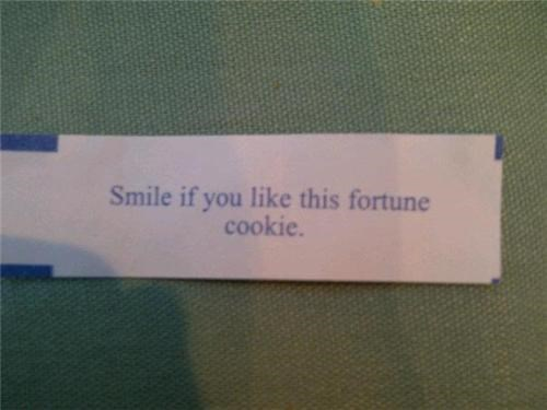 Fortune cookie friday