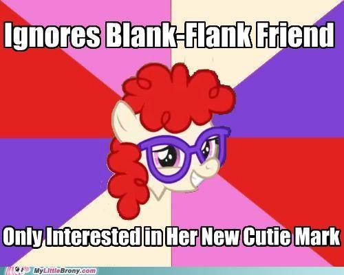 blank flank cutie mark meme terrible friend twist twist - 5433492480