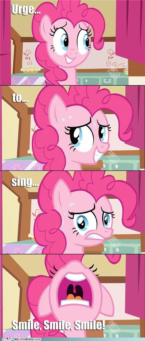 leaked pinkie pie ponies smile song - 5433699584