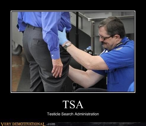TSA Testicle Search Administration