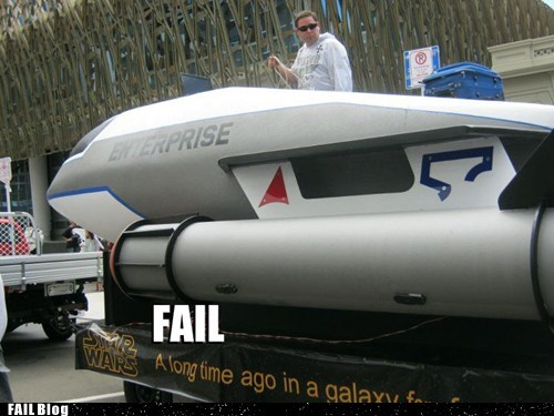 nerd fail,parade,Star Trek,star wars