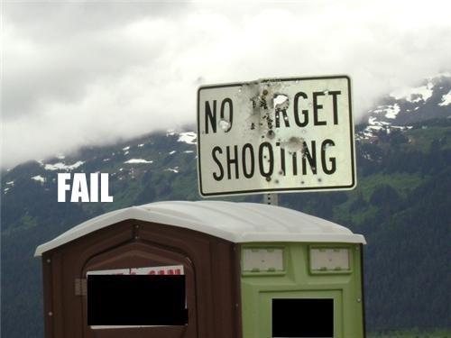 guns irony redneck signs - 5434051840