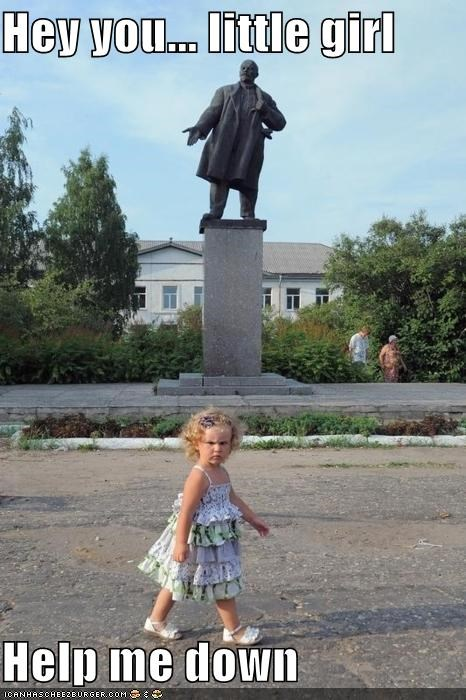 children lenin political pictures