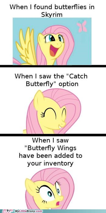 best of week butterflies fluttershy For the Dudes inventory Skyrim Videogames - 5434786048