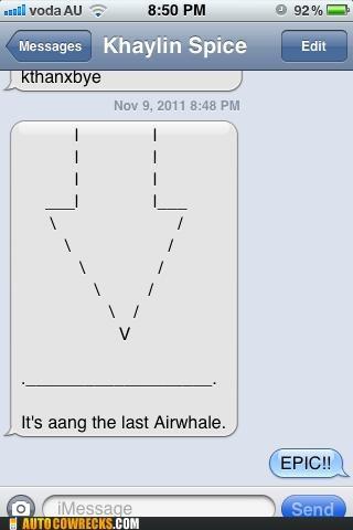 aang airwhale last airbender whale - 5434972928