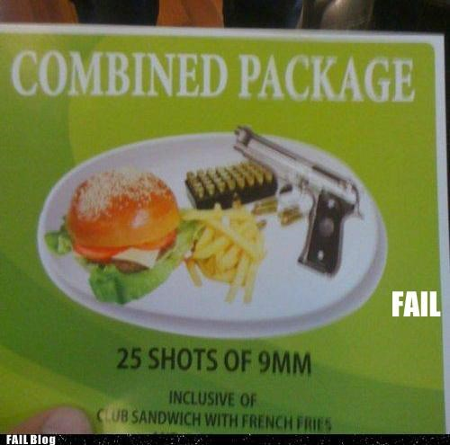 Combined Package FAIL