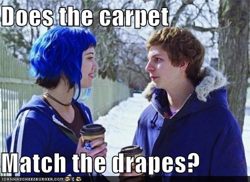 carpet drapes hair mary elizabeth winstead michael cera scott pilgrim - 5435102464