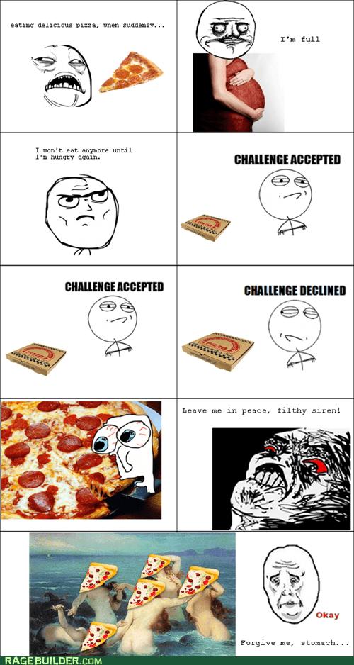 hunger pizza Rage Comics - 5435274752