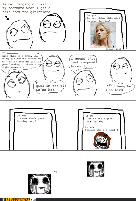 girlfriend,man,picture,rage comic,transgender,trap