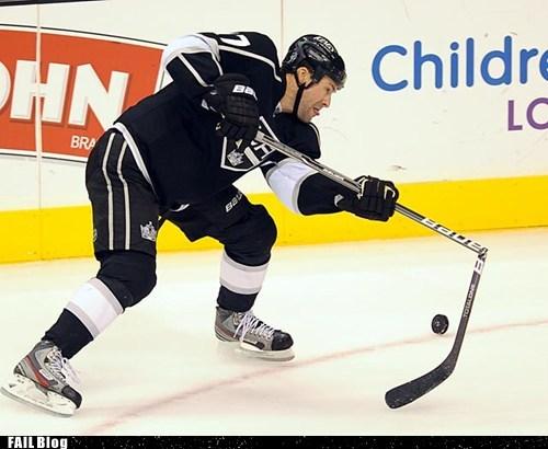 broken g rated hockey los angeles NHL sports - 5435319808