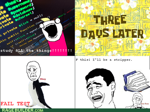 all the things Rage Comics stripper test - 5435348992