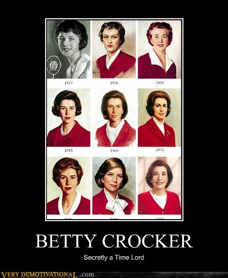 betty crocker,hilarious,Time lord,wtf