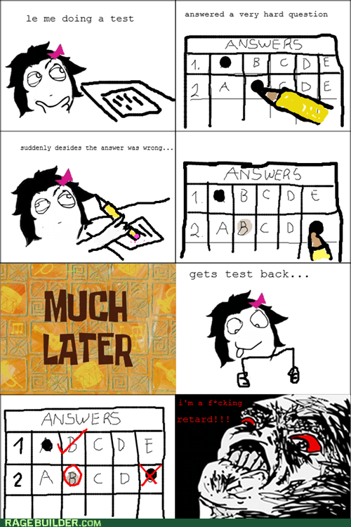 answers erasing Rage Comics test - 5435536640