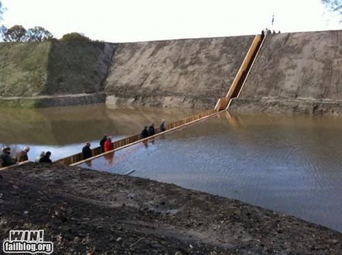 biblical bridge installation part river water - 5435663616