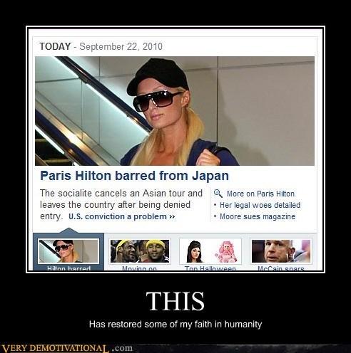 Japan paris hilton Pure Awesome - 5435685632