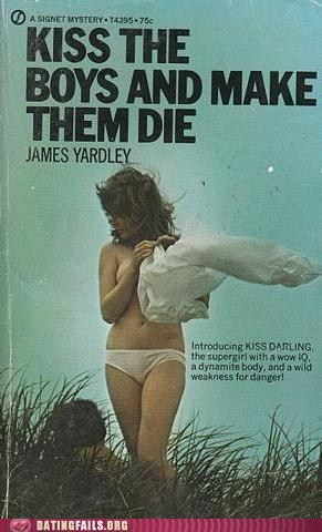 book Death KISS noel novel Pulp pulp fiction We Are Dating - 5435701760