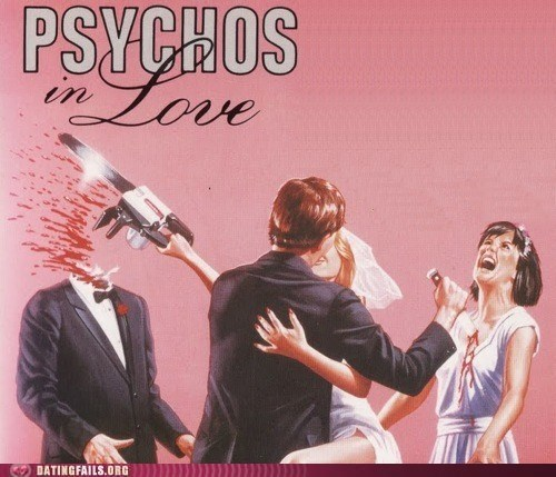 murder,psycho,psychos,Pulp,We Are Dating