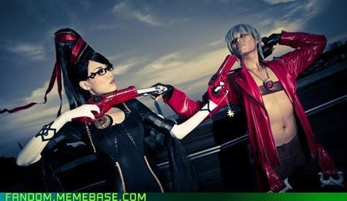 bayonetta cosplay dante video games - 5435811584