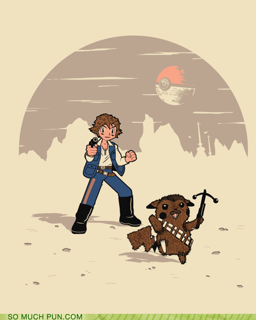 chewbacca,Hall of Fame,homophone,juxtaposition,literalism,pikachu,Pokémon,prefix,star wars,suffix