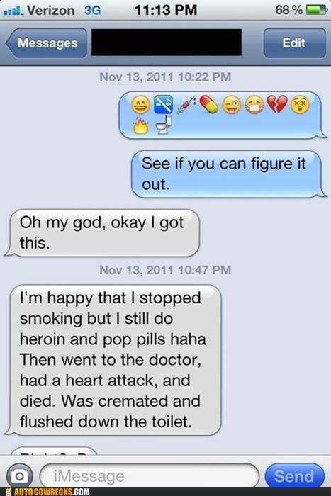 Death doctor drugs emoji emoticon smoking - 5435828992