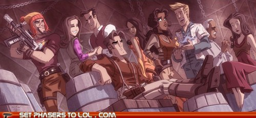 art captain malcolm reynolds derrial book drawing Firefly Inara jayne cobb Joss Whedon Kaylee river tam simon tam wash zoe washburn - 5435835904