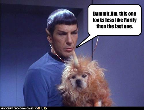 Bronies illogical Leonard Nimoy my little pony Spock Star Trek - 5436111104
