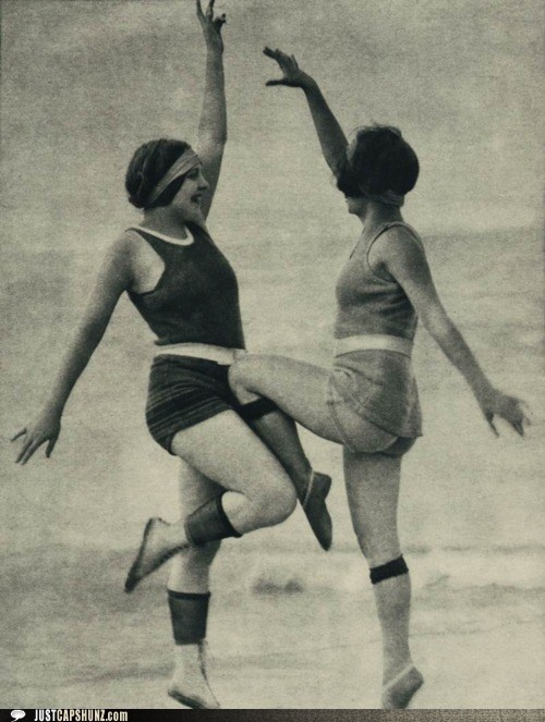 caption contest exercise fitness vintage women - 5436210944