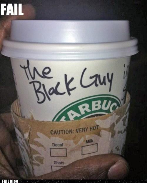 coffee customer service Starbucks thats-racist - 5436292096