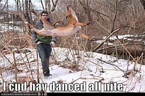 I cud hav danced all nite