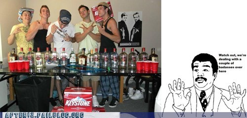 Badass,beer,booze,bros,drinking,keystone,pose,Red Solo Cup
