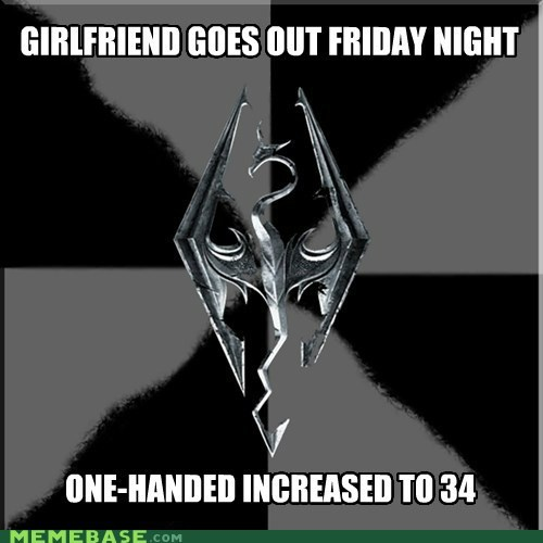 girlfriend level up masturbation Memes sex Skyrim video games - 5436599552