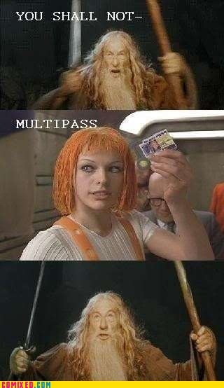 best of week,From the Movies,leeloo,Lord of the Rings,the fifth element,you shall not pass