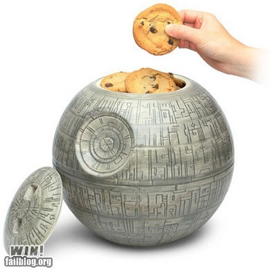 cookie jar Death Star dessert food Hall of Fame nerdgasm star wars - 5436715520