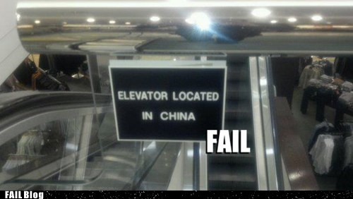China confusing geography signs wtf - 5437053696