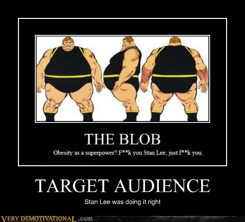 america blob hilarious stan lee target audience