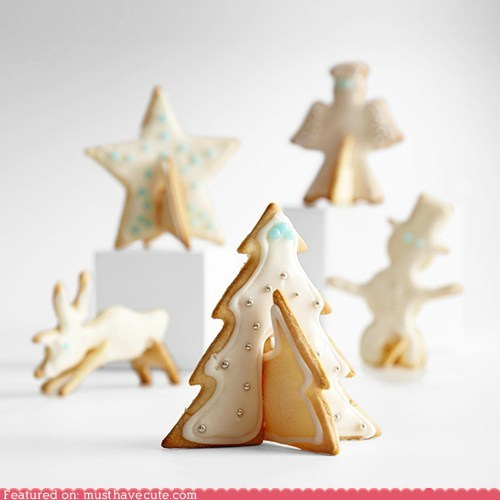 angel christmas cookies epicute snowman star tree - 5438469120