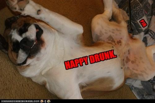 HAPPY DRUNK. PJH