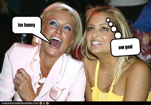 im funny ow god