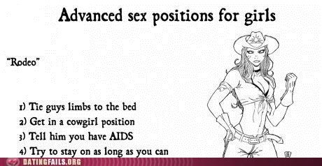 aids cowgirl rodeo sex positions STD sti We Are Dating - 5439108864