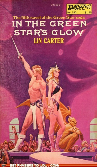 books,cover art,loincloth,science fiction,size,wtf