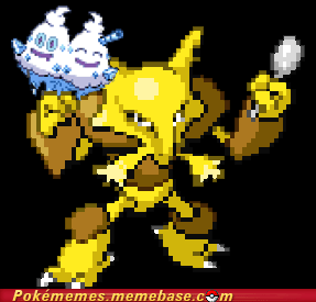 alakazam,gen 5,ice cream,Pokémans,spoon,vanilluxe