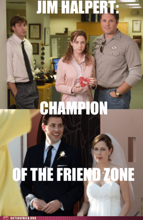 friend zone,jim,jim halpert,Office,pam,pam and jim,television,the office,TV,We Are Dating