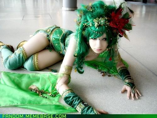 cosplay final fantasy Final Fantasy IV Rydia video games - 5439726336