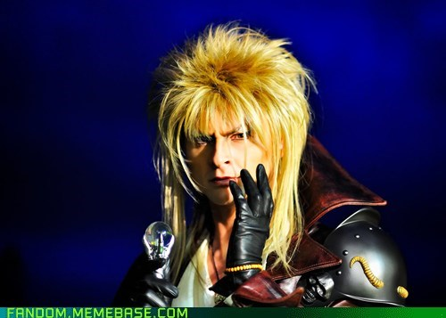best of week,cosplay,david bowie,Jareth the Goblin King,labyrinth,Movie