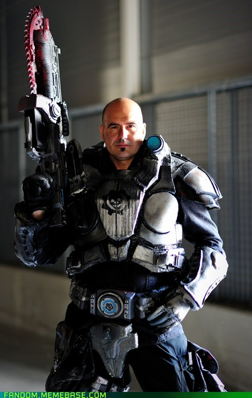 cosplay,Gears of War,marcus fenix,video games