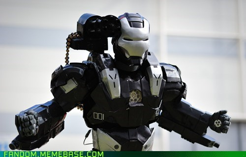 amazing comics cosplay iron man marvel movies war machine - 5439831552